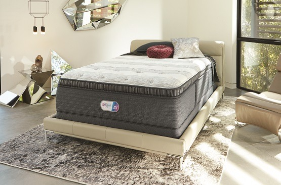 Beautyrest Platinum mattress in a room